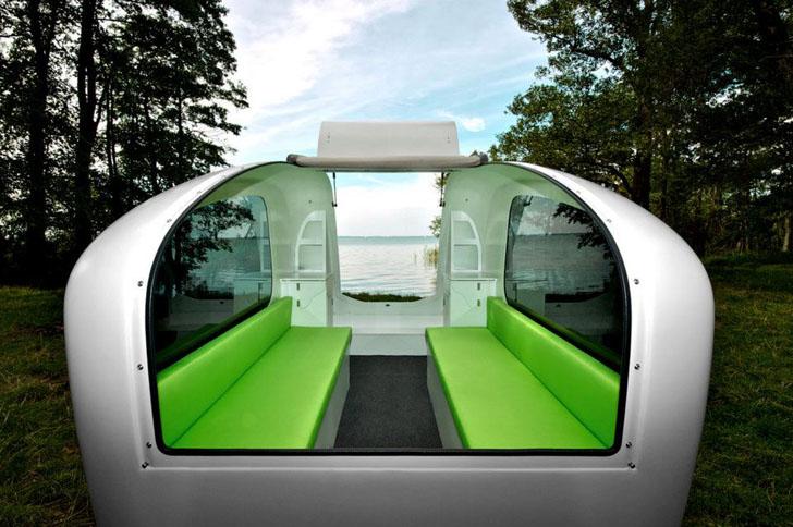 plastic molded interior