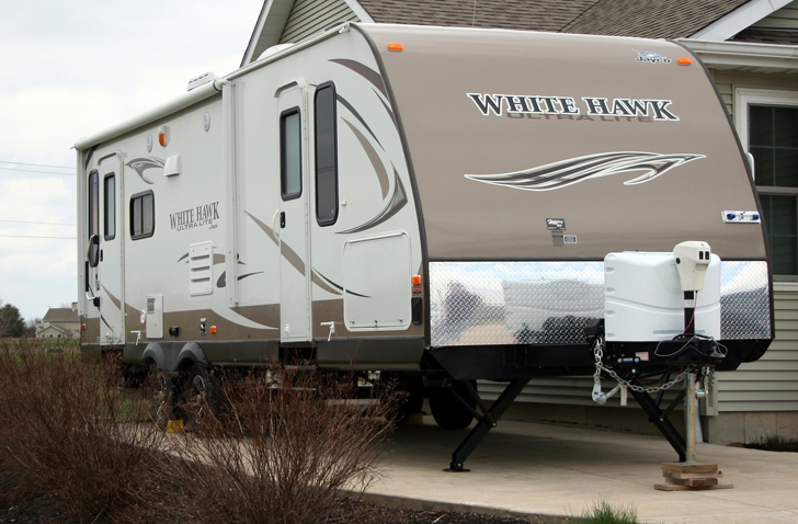 bumper pull trailer