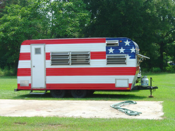 Star Spangled Patriotic Rv Designs Showcase Independence