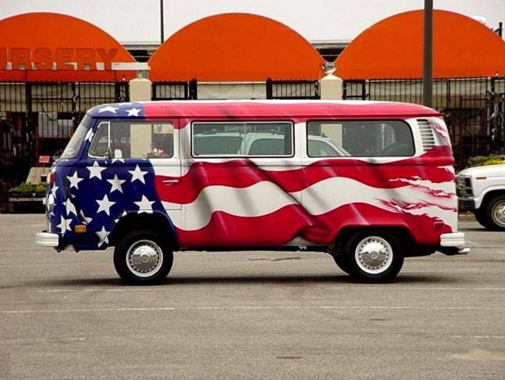 Patriotic RV