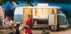 13 Vintage Volkswagen Camper Van Advertisements