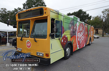 Former City Bus Now A Rolling Market Serving Needy Neighborhoods