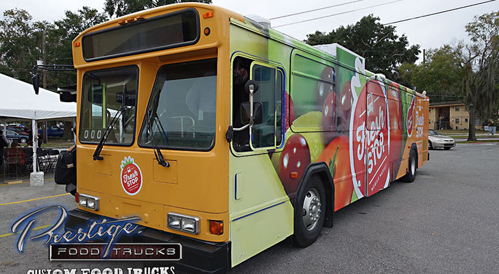 Former City Bus Now A Rolling Market Serving Needy Neighborhoods