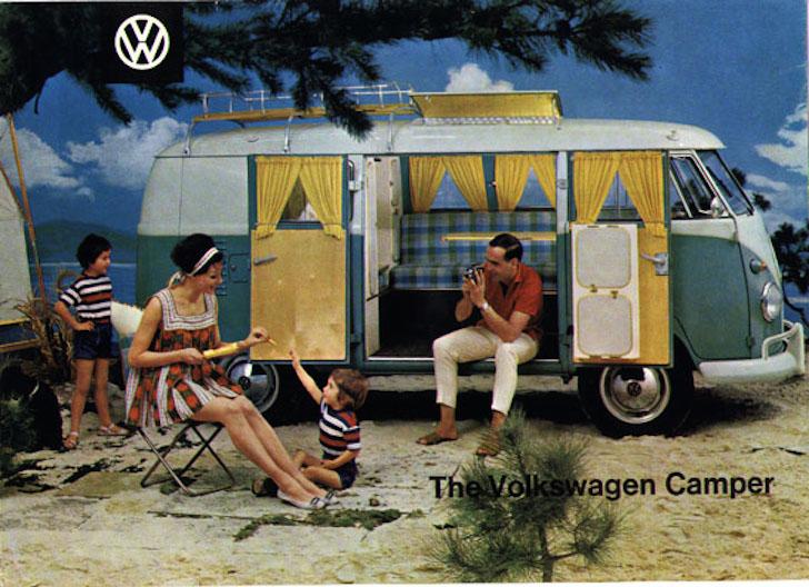 Vw Bus 2015 >> 13 Vintage Volkswagen Camper Van Advertisements