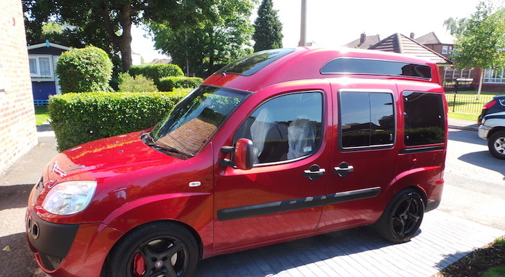 World's Fastest Motorhome (It's A Fiat) Now For Sale On Ebay