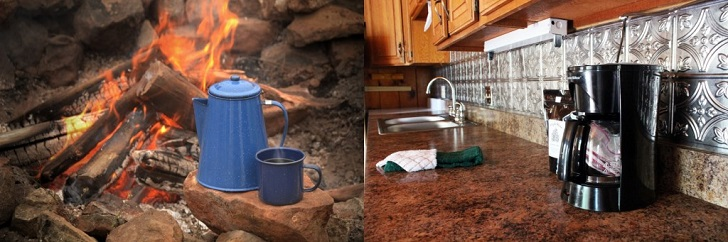Camping vs. Glamping: How You Make Your Coffee
