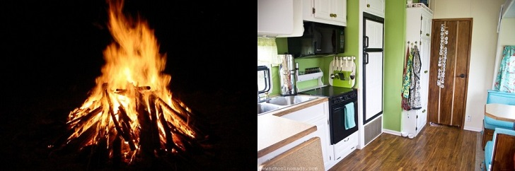 Camping vs. Glamping: How You Cook Your Meals