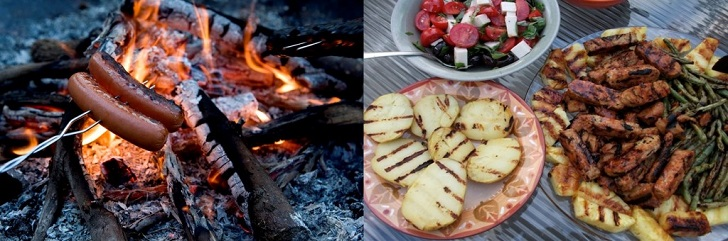 Camping vs. Glamping: What You Prepare For Dinner