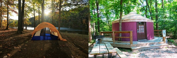 Camping vs. Glamping: What You Stay In