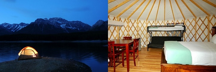 Camping vs. Glamping: How You Deal With The Temperature