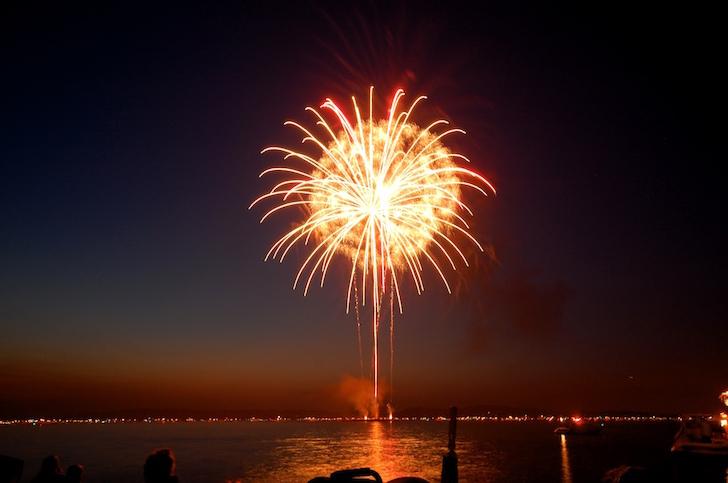 Lake Minnetonka fireworks show