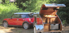Mini-Cooper Camper Trailers Match Form and Function