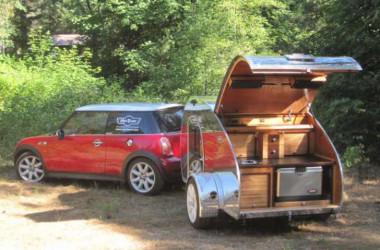 Teardrop Mini Tears camper trailer