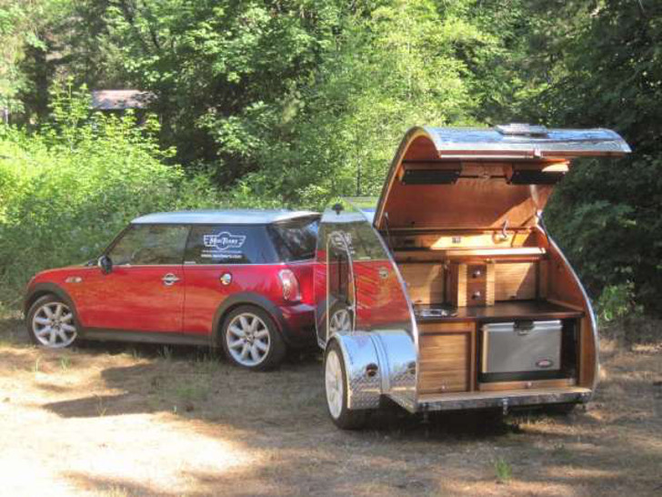 Mini Cooper Camper Trailer Rvs For Small Car Owners