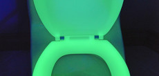 When You Gotta Go, This RV Toilet Seat Is Gonna Glow
