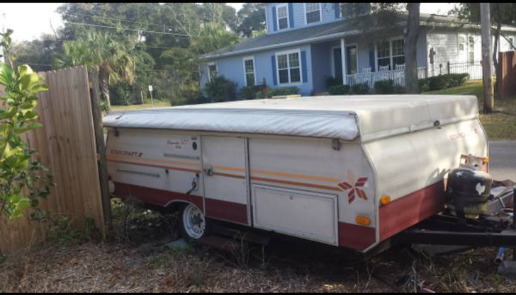 Original pop up camper