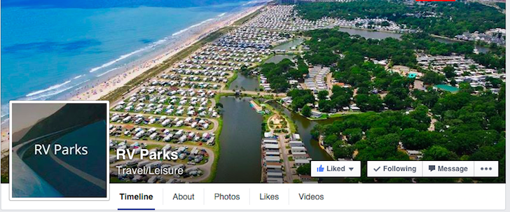 RV Parks FB page