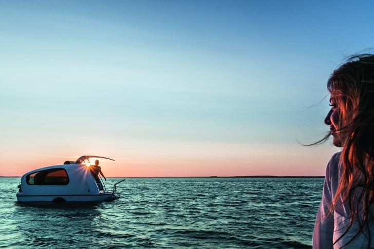 Sealander Boat Camper