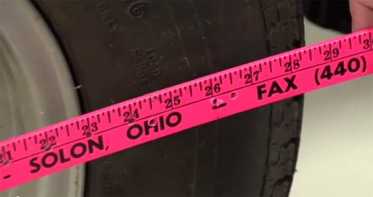 measuring your tires