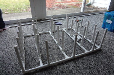 Shoe rack skeleton