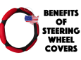 Steering wheel cover benefits