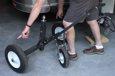 Tow Tuff trailer dolly review