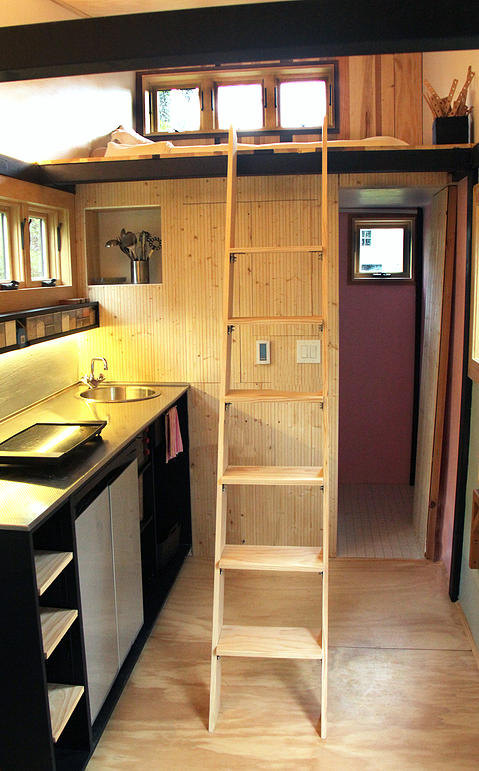 Toy Box Tiny Home Loft