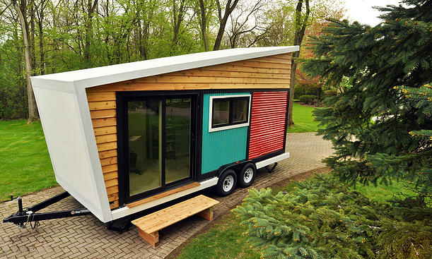 Toy Box Tiny Home Exterior