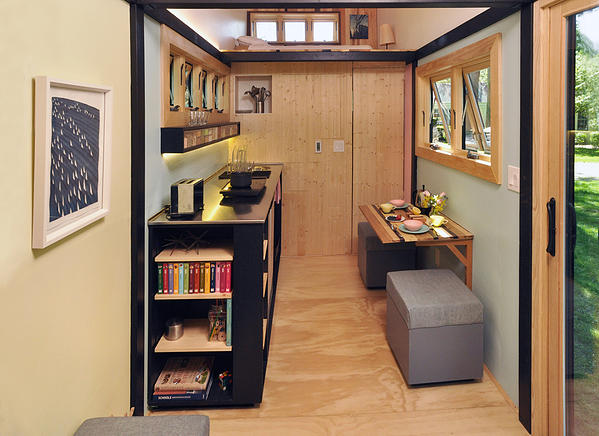 Toy Box Tiny Home Kitchen