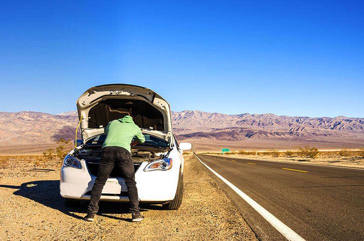 using sun seeker for emergency roadside