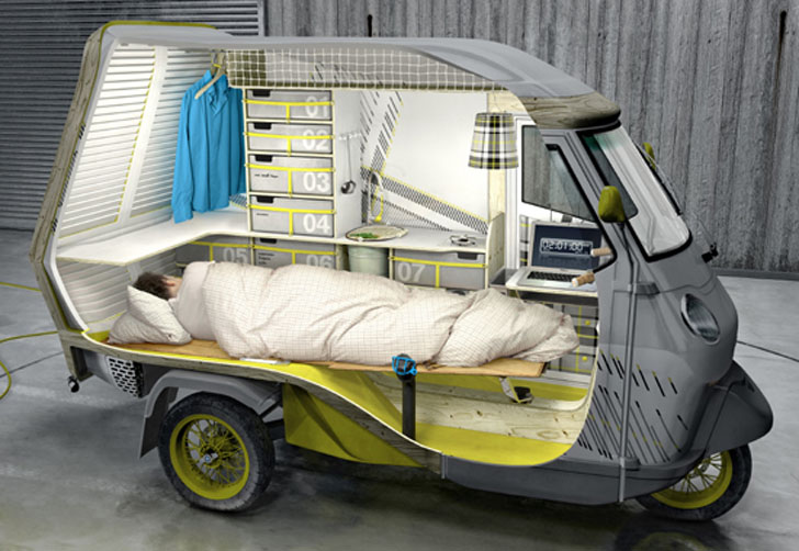 sleeping in the bufalino