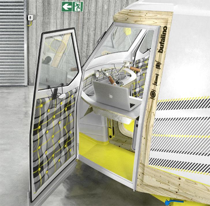 cockpit door open