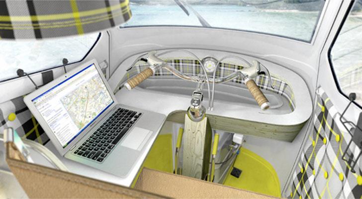 cockpit desk