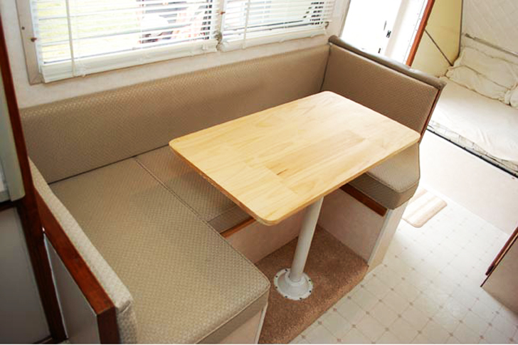 dinette completely redone
