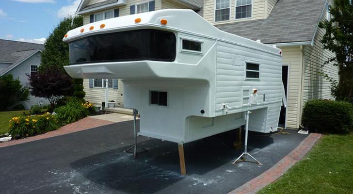 exterior of Amerigo camper