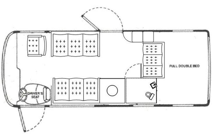 the XC floor plan