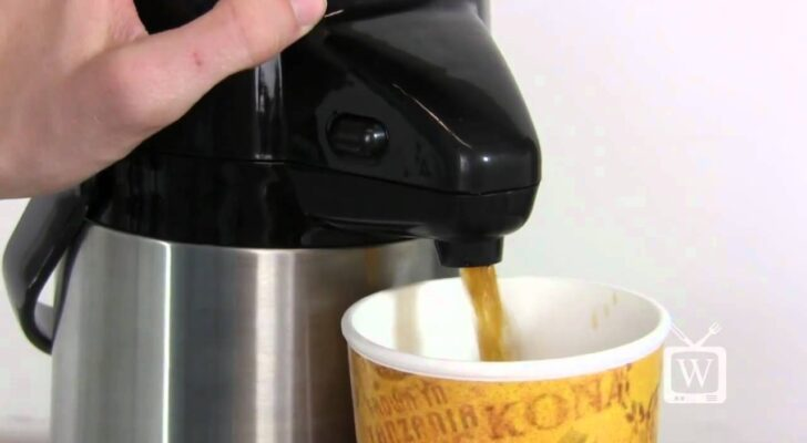Want Hot Water All Day While Camping? Use A Vacuum Pot