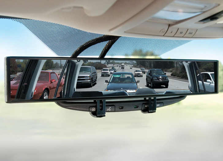 ultra wide rear view mirror
