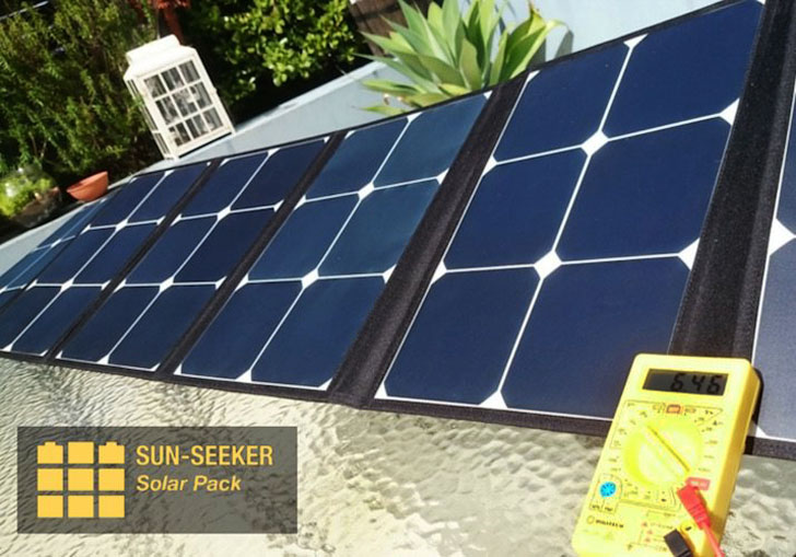 the sun seeker solar array