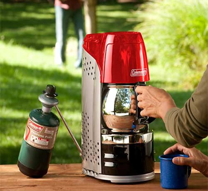 propane coffee maker