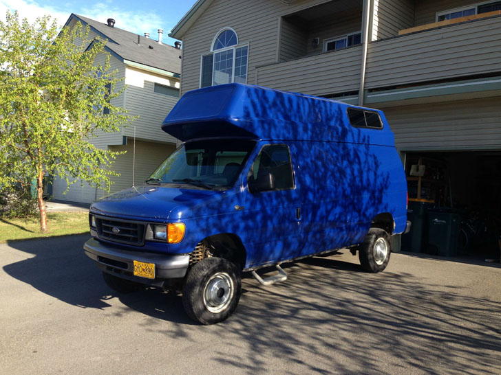 Alaskan Camper For Sale >> Easy Camper Top Installation On A Ford Van