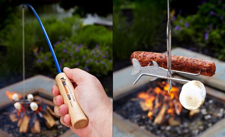 campfire cook rod