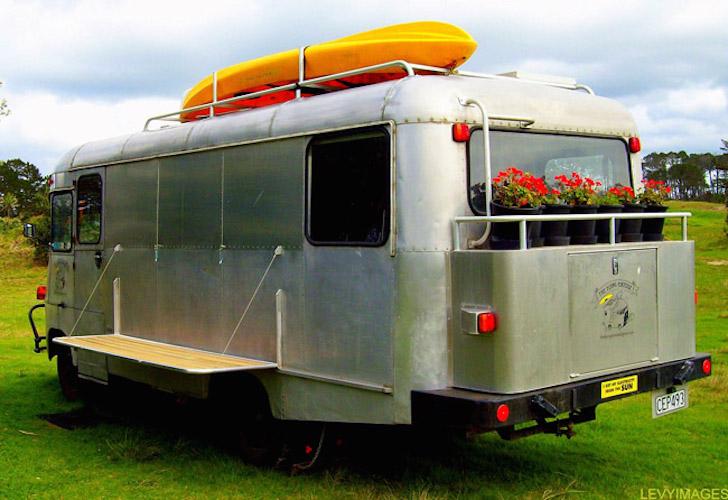 1977 Bedford bus remodel