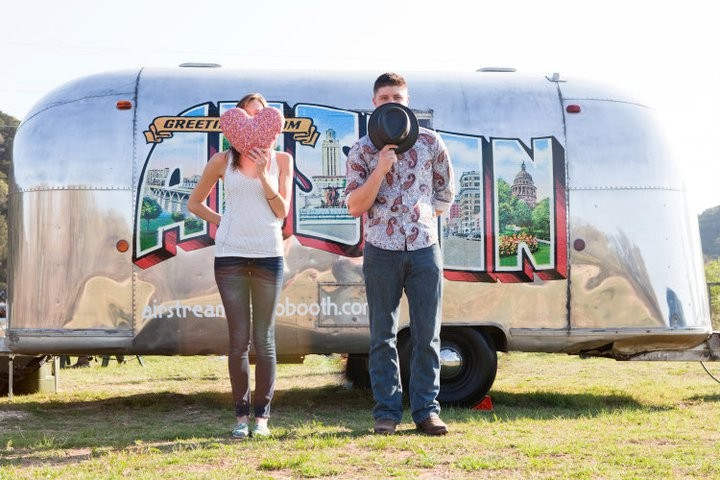 Airstream Photo Booth for Rent in Austin, TX