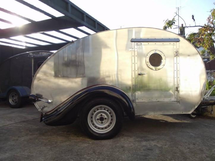 Custom Teardrop Caravan