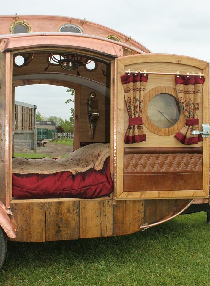 This Artist Has Built 6 Amazing Teardrop Campers