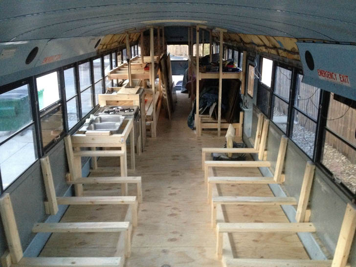 bus frame in