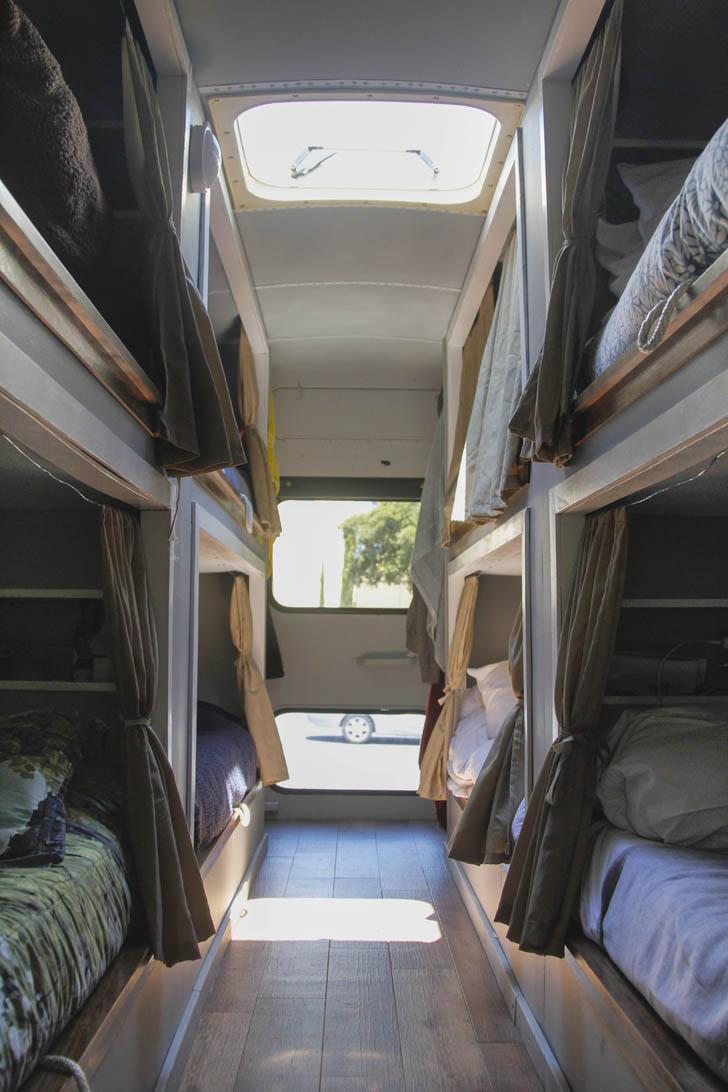 bunks ready