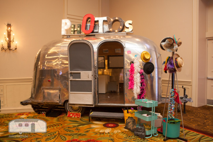 Photo Booth inside an event center