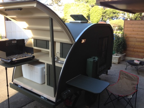 Chuck wagon kitchen